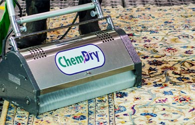 Premium Area Rug Cleaning service by Chem-Dry