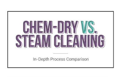 Chem-Dry's Hot Carbonating Extraction Process versus Steam Cleaning