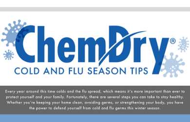 Cold and Flu Season Tips by Chem-Dry