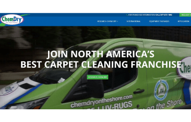 Chem-Dry Franchise Opportunity Homepage