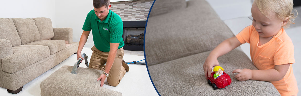Chem-Dry Upholstery Cleaning service keeps your home healthy and clean