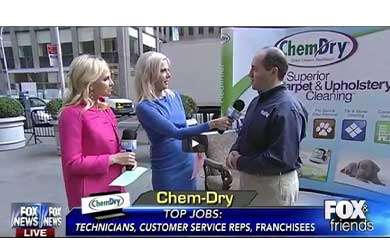 Chem-Dry fetured on Fox & Friends