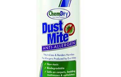 Buy Dust Mite Anti-Allergen from your local Chem-Dry representative
