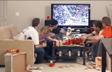 Preparing Your Home for the Big Messy SuperBowl Party