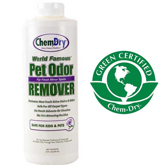 Chem-Dry World Famous Professional Pet Odor Remover