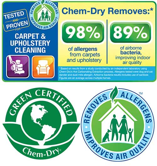 Carpet Cleaning solution that is green certified and non-toxic
