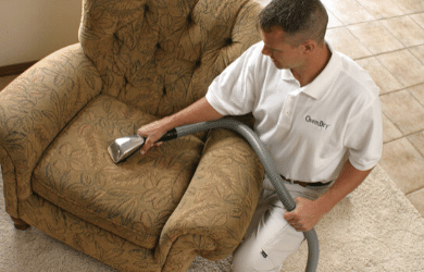 Upholstery Cleaning With Chem-Dry