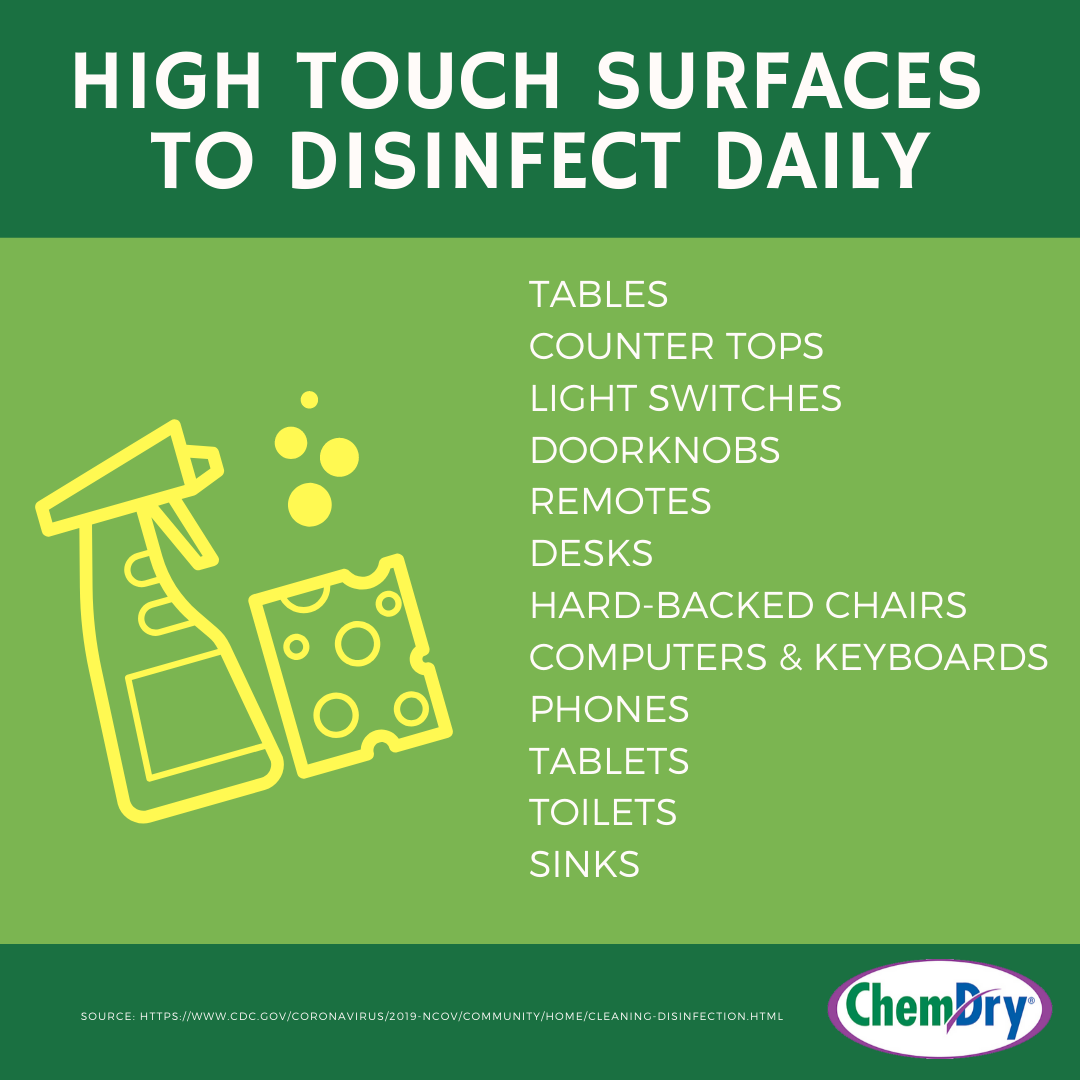 Home Cleaning Disinfecting Tips During The Covid 19 Outbreak