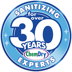 Chem-Dry has been providing Sanitizing services for more than 30 years.