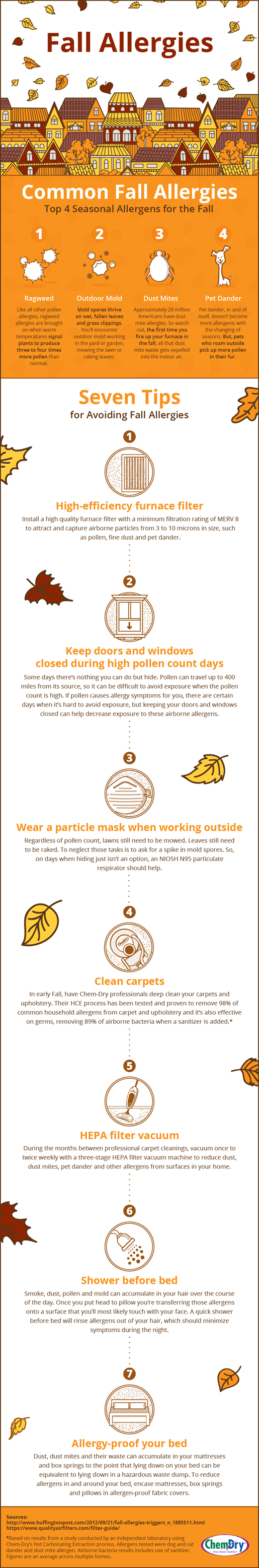 7 Tips for Avoiding Fall Allergies
