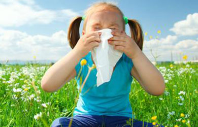 Children's allergies can be reduced by maintaining a healthy and clean home